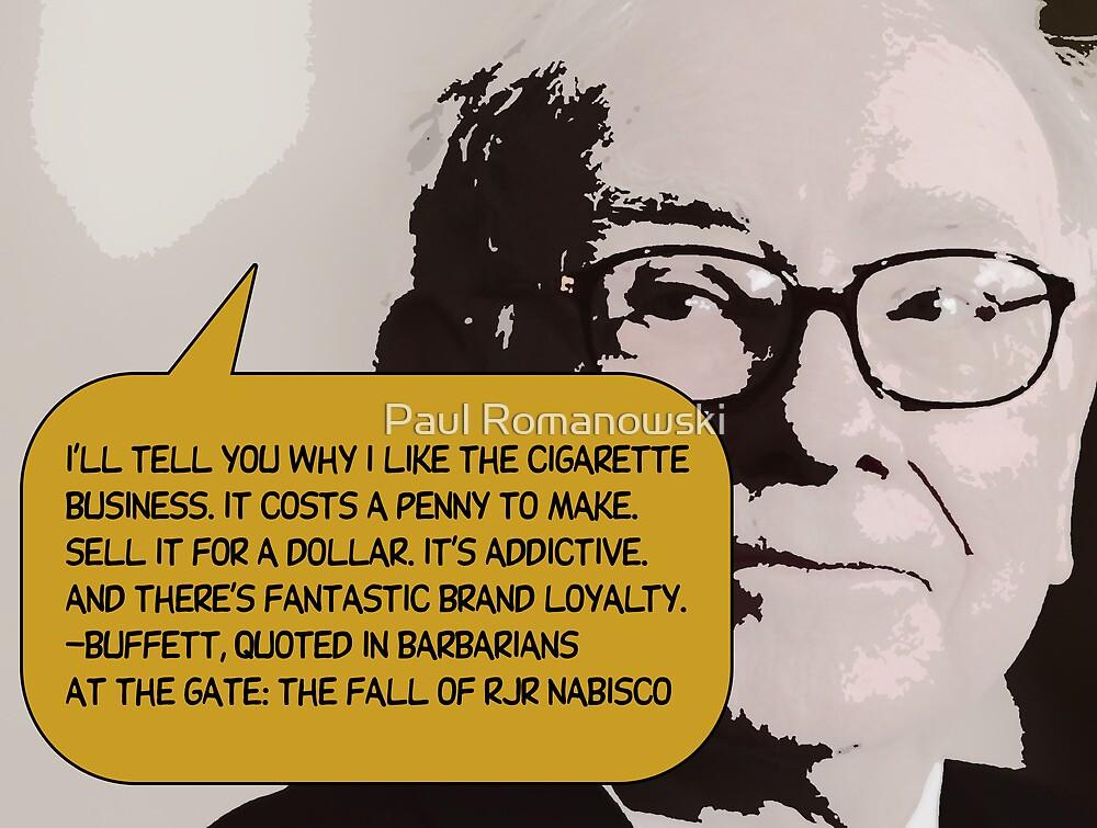 Warren Buffett(C2013) by Paul Romanowski