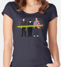 Murder, He Wrote Women's Fitted Scoop T-Shirt