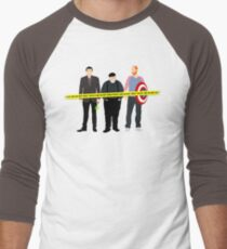 Murder, He Wrote Men's Baseball ¾ T-Shirt