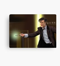 The 11th Doctor Who Canvas Print