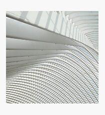 Calatrava in Liege Photographic Print