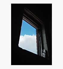Window to the world,just out of reach  Photographic Print