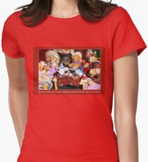 Tea at Tabitha's Womens Fitted T-Shirt