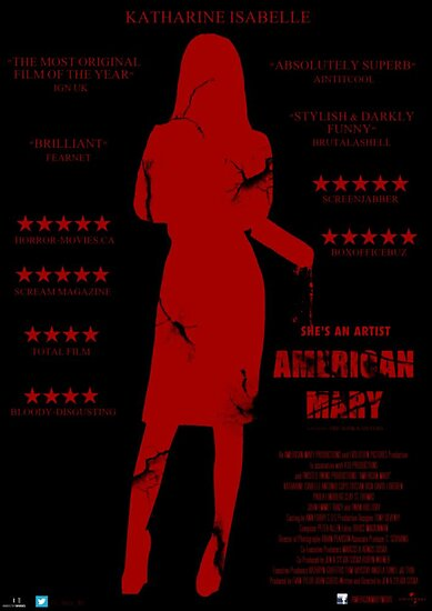 American Mary Poster by DiscordCBamBam