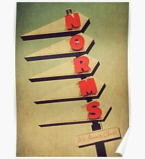 Norm's  Poster