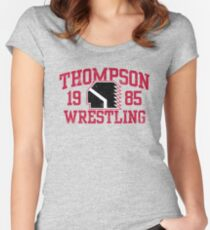 Thompson Wrestling Women's Fitted Scoop T-Shirt