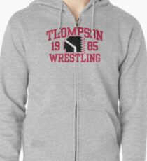 Thompson Wrestling Zipped Hoodie