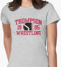 Thompson Wrestling Women's Fitted T-Shirt