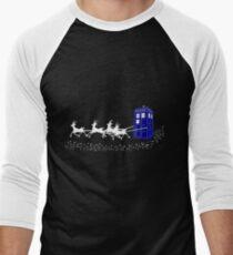 The Doctor's Christmas Men's Baseball ¾ T-Shirt
