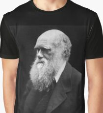 Darwin portrait Graphic T-Shirt