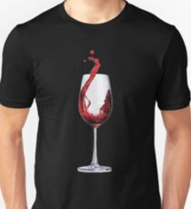 A good glass of wine Unisex T-Shirt