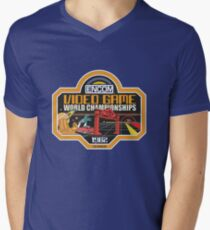 ENCOM Video Game Championships Men's V-Neck T-Shirt
