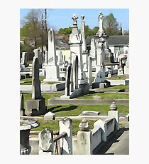Canal St. Cemetery Photographic Print