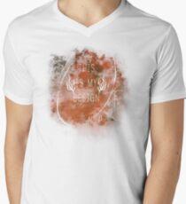"""This Is My Design"" Hannibal T-Shirt Mens V-Neck T-Shirt"