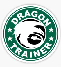 Dragon trainer Sticker