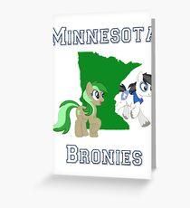 Minnesota Bronies Greeting Card