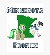 Minnesota Bronies Photographic Print