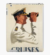 Vintage poster - Canadian Pacific Cruises iPad Case/Skin