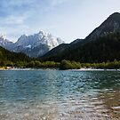 Lake Jasna in Kranjska Gora by Ian Middleton