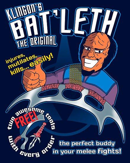Bat'leth (the original) by J.C. Maziu