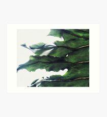 it's a green world Art Print