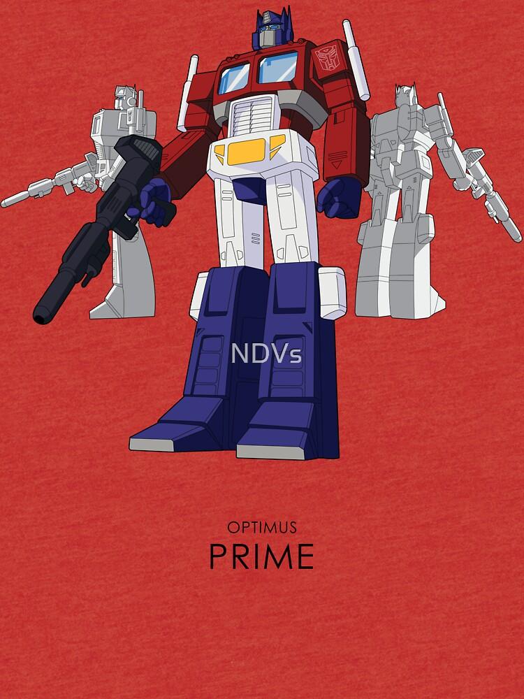 Optimus Prime - (mix) - light T-shirt | Tri-blend T-Shirt