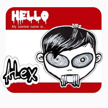 My zombie name is Alex by innerZ