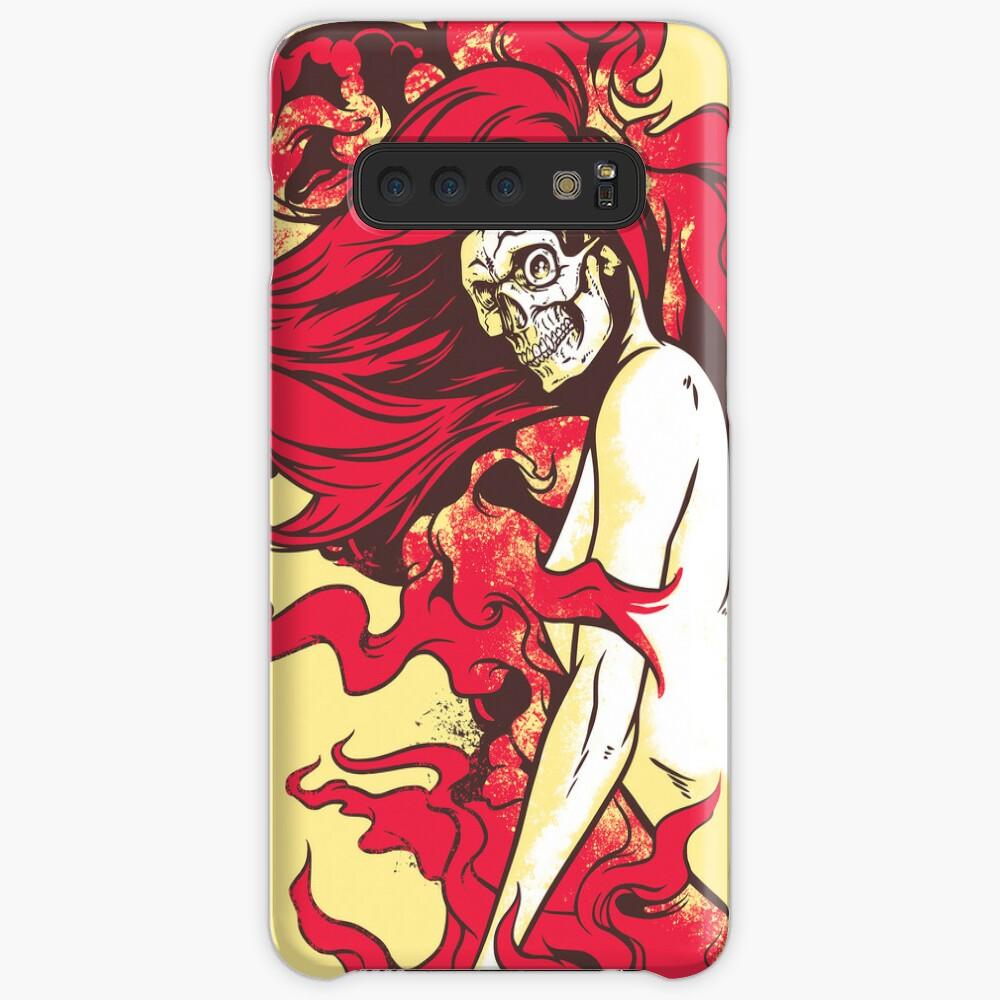 Satan's Pin Up Case & Skin for Samsung Galaxy
