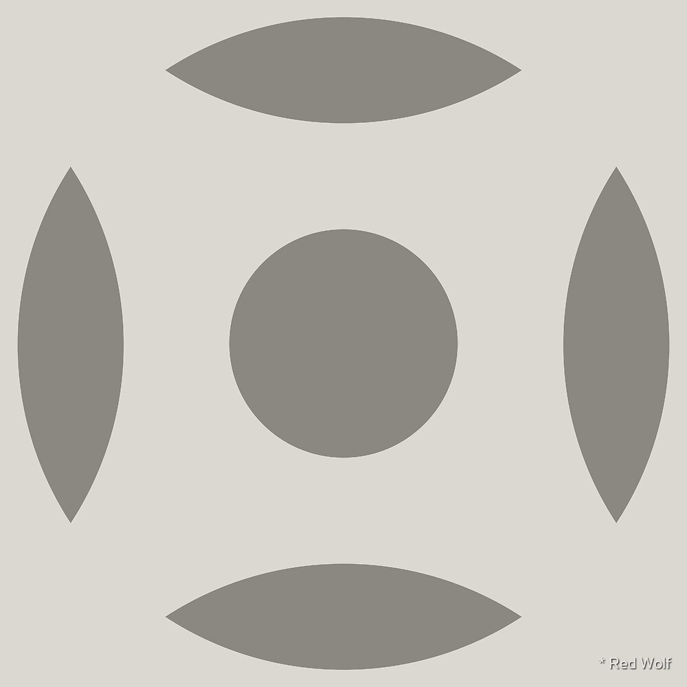 Geometric Pattern: Intersect Circle: Portland by * Red Wolf