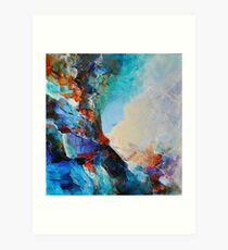 Subliminal featured in Vavoom, Painters Universe Art Print