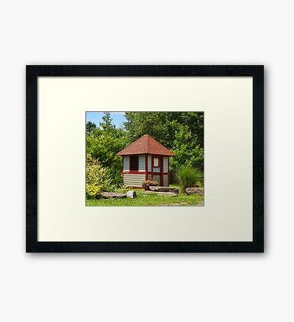 Watchman's Shanty Framed Print