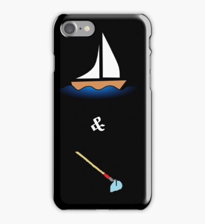 Boats and H*** iPhone Case/Skin