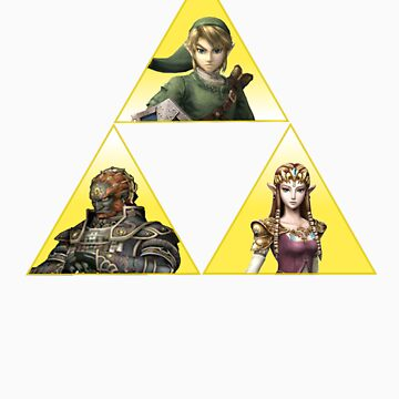 Triforce by ToxicTurtles