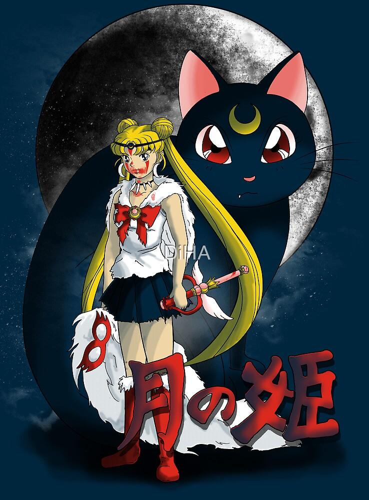 Princess Moononoke by DiHA
