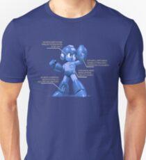 Mega Man Design - NES and SNES Interior Makeup Unisex T-Shirt