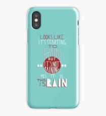 This is Rain iPhone Case/Skin