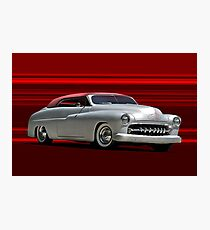1950 Mercury Custom Convertible Photographic Print