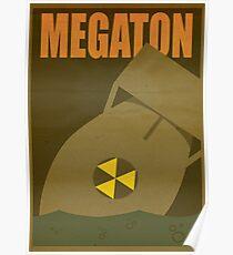 Travel poster Megaton Poster
