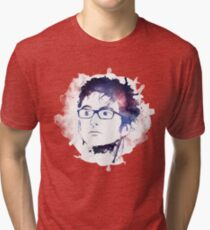 10th Doctor- David Tennant  Tri-blend T-Shirt