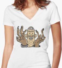 Dr. Barber Women's Fitted V-Neck T-Shirt