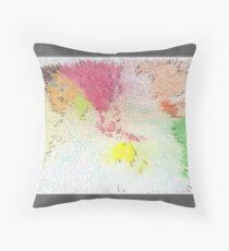 World map as art Throw Pillow