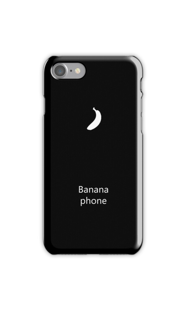 Quot Banana Phone Quot Iphone Cases Amp Skins By Poppyflower Redbubble