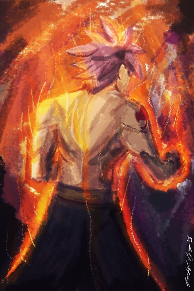 Son Of Igneel (Natsu Dragneel from Fairy Tail) by MegaHayzer