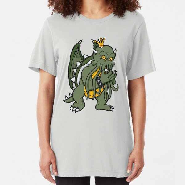 King Koopthulhu Slim Fit T-Shirt