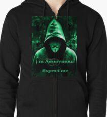 Anonymous Zipped Hoodie