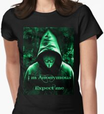 Anonymous Women's Fitted T-Shirt