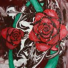 2 Roses by Jina Wallwork