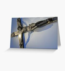 Tacca's The Pistoia Crucifix Greeting Card