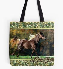 Paso Fino Horse Christmas Card Tote Bag