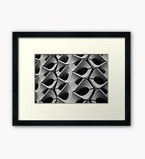 Concrete Facade - Chemnitz Framed Print